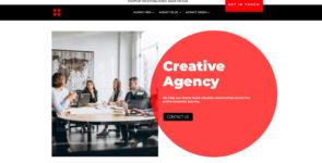 Premium Creative Agency Theme on Divi Cake