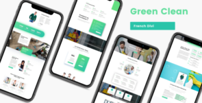 Green Clean on Divi Cake