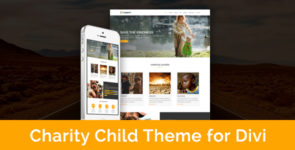 Charity – Child Theme for Divi on Divi Cake