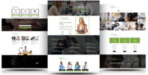 Divi Insurance Agency One Page Multipurpose Child Theme on Divi Cake