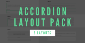 Accordion Layout Pack (6 Layouts) on Divi Cake