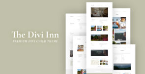 The Divi Inn on Divi Cake