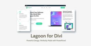 Lagoon (+Prebuilt PowerPanel) on Divi Cake