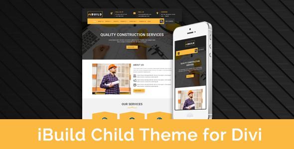 iBuild – Child Theme for Divi on Divi Cake