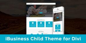 iBusiness – Child Theme for Divi on Divi Cake