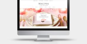 Malina on Divi Cake