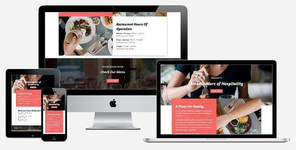 Foodies – Modern Restaurants Layout Bundle on Divi Cake