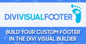 Divi Visual Footer on Divi Cake