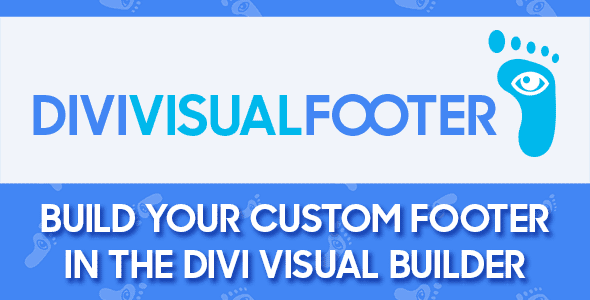 Divi Visual Footer on Divi Cake