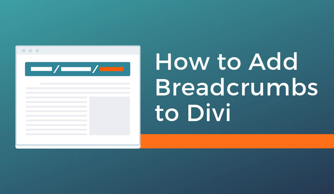 How to Add Breadcrumbs to Divi