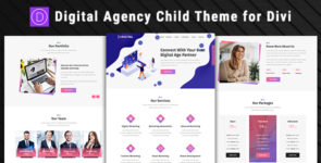 Digital Agency – Divi Child Theme on Divi Cake