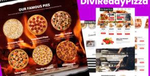 Divi Child Theme – Divi Ready Pizza on Divi Cake