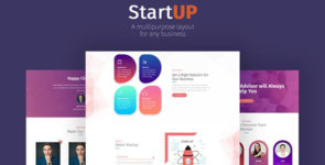 StartUp Layout Pack on Divi Cake