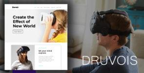 Druvois – Virtual Reality on Divi Cake