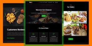 Karra – Food, Restaurant, Cafe on Divi Cake