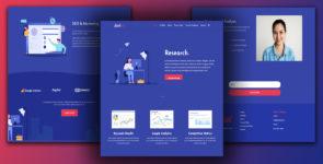 Radical – Agency, Company, Marketing on Divi Cake