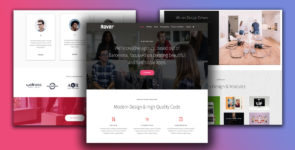 Rover – Agency, Company on Divi Cake