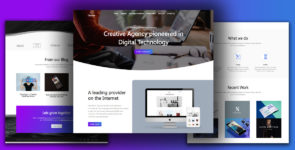 Venture – Agency, Company on Divi Cake