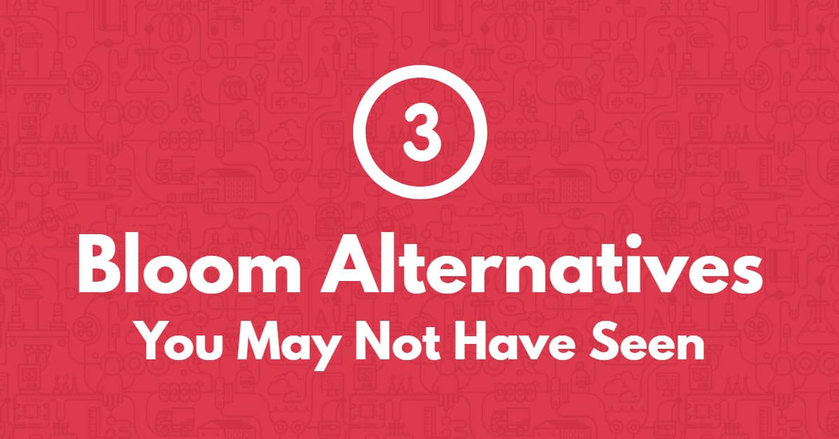 3 Bloom Alternatives You May Not Have Seen