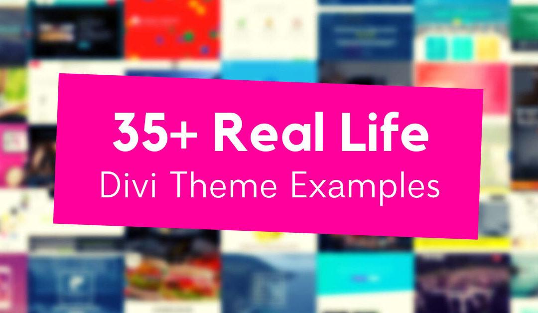 35+ Examples of Websites Using Divi