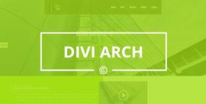 Divi Arch on Divi Cake