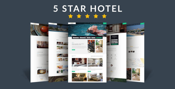 5 Star Hotel / Bed & Breakfast on Divi Cake