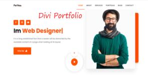 Fotor – Personal portfolio on Divi Cake