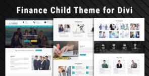 Finance – Child Theme for Divi on Divi Cake
