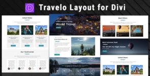 Travelo – Divi Theme Layout on Divi Cake