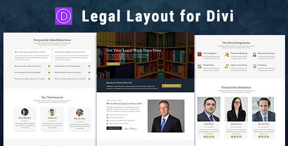 Legal – Divi Theme Layout on Divi Cake