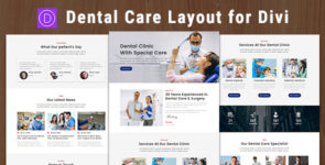 Dental Care – Divi Theme Layout on Divi Cake