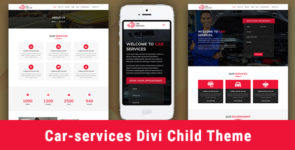 Car Services – Child Theme for Divi on Divi Cake