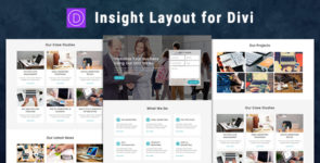 Insight – Divi Theme Layout on Divi Cake