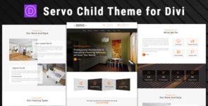 Servo – Child Theme for Divi on Divi Cake