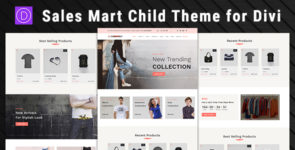 Sales Mart – Divi Child Theme on Divi Cake