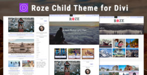 Roze – Divi Child Theme on Divi Cake