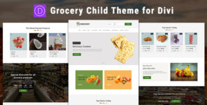 Grocery – WooCommerce Divi Child Theme on Divi Cake