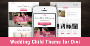 Wedding – Divi Child Theme on Divi Cake