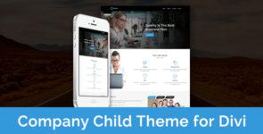 Company – Child Theme for Divi on Divi Cake