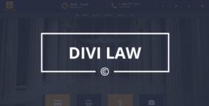 Divi Law on Divi Cake