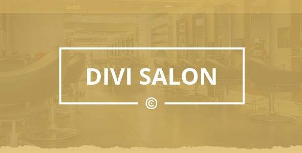 Divi Salon on Divi Cake