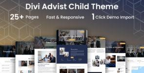 Advist Lawyer Divi Child Theme on Divi Cake