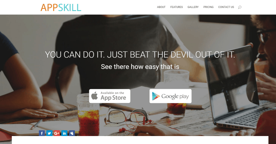 AppSkill Divi Landing Page Layout
