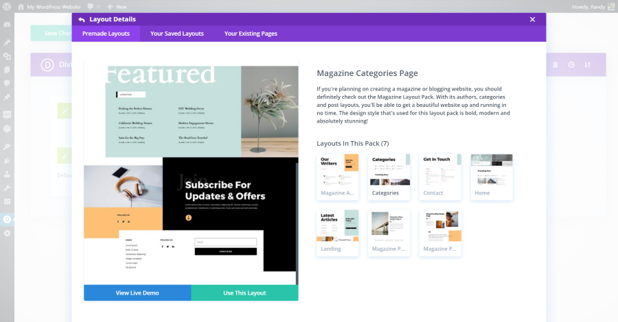 Creating Footer Templates