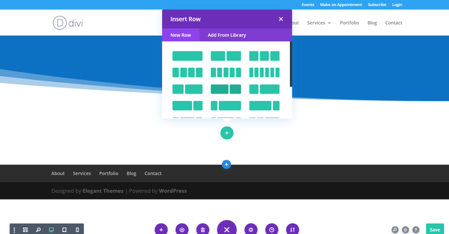 Creating a Divi Layout