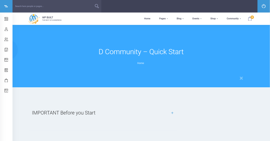 D Community Documentation