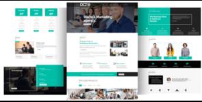 Divi Marketing Agency on Divi Cake