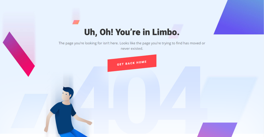 Designing a 404 Page