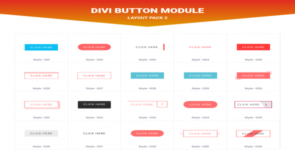 Divi Button Layout Pack 2 on Divi Cake