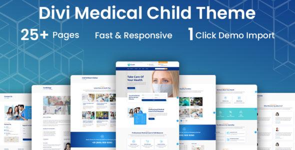 Health Divi Medical Clinic Child Theme on Divi Cake